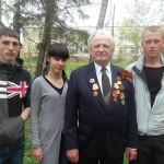 Фото с ветераном