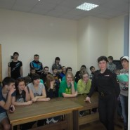 1 фото инспектора и обучающихся