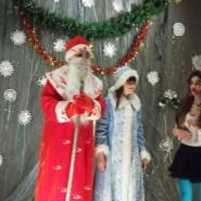 Дед Мороз, Снегурочка и Баба-Яга