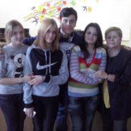 Фото студентов с преподавателем