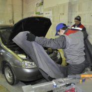2 фото второго дня соревнований по компетенции «Ремонт и обслуживание легковых автомобилей»