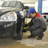 9 фото второго дня соревнований по компетенции «Ремонт и обслуживание легковых автомобилей»