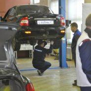 1 фото соревнований по компетенции «Ремонт и обслуживание легковых автомобилей»