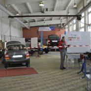 5 фото соревнований по компетенции «Ремонт и обслуживание легковых автомобилей»