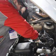5 фото второго дня соревнований по компетенции «Ремонт и обслуживание легковых автомобилей»
