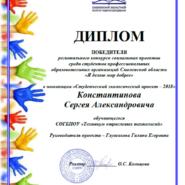 Диплом Константинов